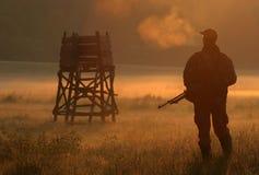 κυνηγός Στοκ Φωτογραφία