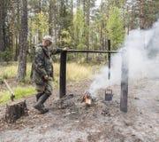 Κυνηγός Στοκ φωτογραφία με δικαίωμα ελεύθερης χρήσης