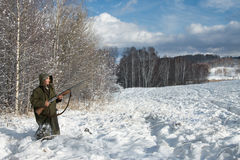 κυνηγός Στοκ εικόνα με δικαίωμα ελεύθερης χρήσης