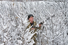 κυνηγός Στοκ φωτογραφίες με δικαίωμα ελεύθερης χρήσης