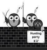 Κυνηγώντας κόμμα Στοκ Φωτογραφία