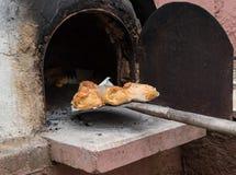 Κυπριακές πίτες Flaounes τυριών Πάσχας Στοκ εικόνες με δικαίωμα ελεύθερης χρήσης