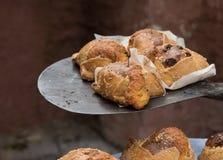 Κυπριακές πίτες Flaounes τυριών Πάσχας Στοκ Εικόνες
