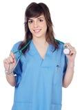 κυρία γιατρών στοκ φωτογραφία με δικαίωμα ελεύθερης χρήσης