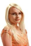 κυρία γυαλιών Στοκ εικόνα με δικαίωμα ελεύθερης χρήσης
