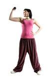 κυρία γυμναστικής Στοκ φωτογραφία με δικαίωμα ελεύθερης χρήσης