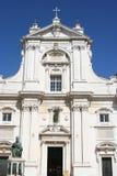 Κυρία είσοδος του καθεδρικού ναού Loreto, Marche, Ιταλία Στοκ εικόνες με δικαίωμα ελεύθερης χρήσης