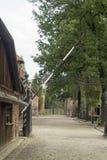 Κυρία είσοδος Auschwitz Στοκ εικόνες με δικαίωμα ελεύθερης χρήσης