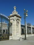 Κυρία είσοδος στη Μαδρίτη Royal Palace Στοκ εικόνες με δικαίωμα ελεύθερης χρήσης