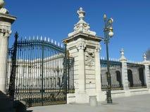 Κυρία είσοδος στη Μαδρίτη Royal Palace Στοκ φωτογραφία με δικαίωμα ελεύθερης χρήσης
