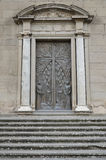 Κυρία είσοδος στον καθεδρικό ναό του SAN Lorenzo, Βιτέρμπο Στοκ φωτογραφία με δικαίωμα ελεύθερης χρήσης