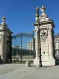 Κυρία είσοδος της Royal Palace στη Μαδρίτη Στοκ εικόνα με δικαίωμα ελεύθερης χρήσης