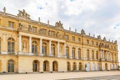 Κυρία είσοδος των Βερσαλλιών Το παλάτι Βερσαλλίες ήταν ένα βασιλικό Cha Στοκ Εικόνες