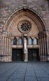 κυρία καθεδρικών ναών notre Στοκ Εικόνες