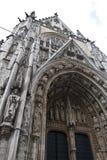 κυρία καθεδρικών ναών του Βελγίου notre Στοκ Εικόνες