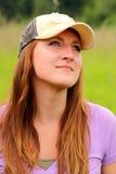 κυρία καπέλων αρκετά που &ph Στοκ φωτογραφία με δικαίωμα ελεύθερης χρήσης