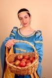 κυρία μεσαιωνική Στοκ Εικόνα