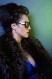 Κυρία μόδας, βλαστός μόδας Στοκ Εικόνα
