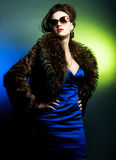 Κυρία μόδας, βλαστός μόδας Στοκ Φωτογραφία