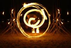 κυρία πυρκαγιάς χορευτώ&n Στοκ φωτογραφία με δικαίωμα ελεύθερης χρήσης