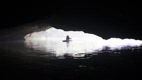 Κυρία σε μια βάρκα Στοκ εικόνες με δικαίωμα ελεύθερης χρήσης