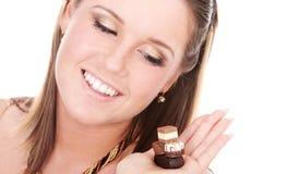 κυρία σοκολάτας Στοκ φωτογραφίες με δικαίωμα ελεύθερης χρήσης
