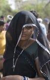 Κυρία στο Μαύρο Στοκ εικόνα με δικαίωμα ελεύθερης χρήσης