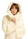Κυρία στο παλτό γουνών Στοκ φωτογραφία με δικαίωμα ελεύθερης χρήσης