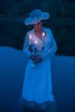 Κυρία της λίμνης Στοκ Φωτογραφία