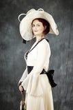 Κυρία της Νίκαιας των παλαιών χρόνων στοκ φωτογραφίες με δικαίωμα ελεύθερης χρήσης