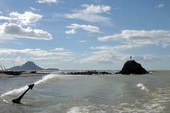 Κυρία του νησιού βράχου και φαλαινών σε Whakatane, Νέα Ζηλανδία στοκ εικόνα με δικαίωμα ελεύθερης χρήσης