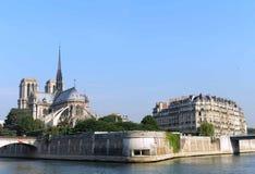 Κυρία του Παρισιού notre Στοκ Εικόνα