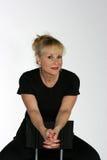 κυρία φίλαθλη Στοκ Φωτογραφία