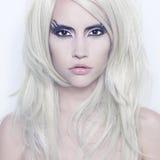 κυρία φαντασίας makeup Στοκ εικόνες με δικαίωμα ελεύθερης χρήσης