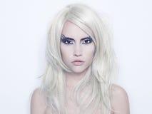 κυρία φαντασίας makeup Στοκ Εικόνες