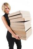 κυρία 24 επιχειρήσεων στοκ φωτογραφία με δικαίωμα ελεύθερης χρήσης