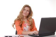 κυρία 8 επιχειρήσεων Στοκ Φωτογραφία