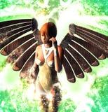 Κυρία Angel Διανυσματική απεικόνιση