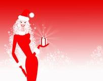 Κυρία Christmas ελεύθερη απεικόνιση δικαιώματος