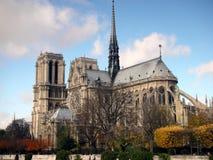 κυρία de Γαλλία notre Παρίσι Στοκ Εικόνες