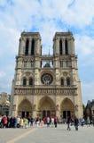 Κυρία de Παρίσι Cathédrale notre στοκ φωτογραφίες με δικαίωμα ελεύθερης χρήσης