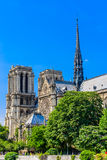 κυρία de notre Παρίσι Στοκ Φωτογραφίες