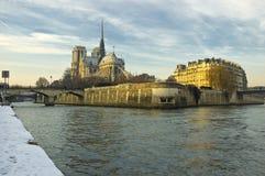 κυρία de notre Παρίσι Στοκ φωτογραφίες με δικαίωμα ελεύθερης χρήσης