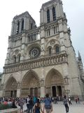 κυρία de notre Παρίσι στοκ εικόνα με δικαίωμα ελεύθερης χρήσης