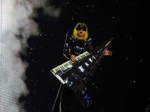 κυρία gaga FEB 28 2011 ζωντανή Στοκ εικόνες με δικαίωμα ελεύθερης χρήσης