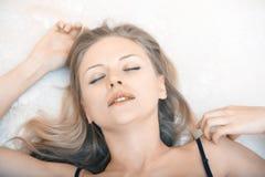 Κυρία lingerie Στοκ φωτογραφίες με δικαίωμα ελεύθερης χρήσης