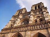 κυρία notre Παρίσι καθεδρικών & Στοκ Εικόνες
