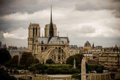 κυρία notre Παρίσι στοκ φωτογραφία με δικαίωμα ελεύθερης χρήσης