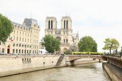 κυρία notre Παρίσι Στοκ Εικόνες