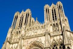 κυρία notre Reims καθεδρικών ναών Στοκ εικόνα με δικαίωμα ελεύθερης χρήσης